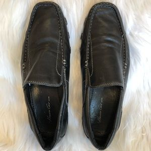 Kenneth Cole driving shoe black leather size 9M